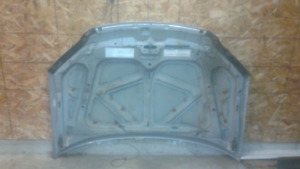 Engine hood for civic