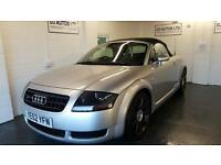 Audi TT Roadster 1.8 T quattro 180bhp silver 52 plate *px welcome*electri hood*