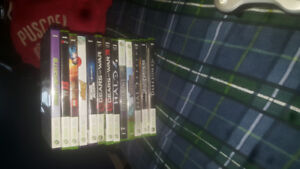 XBOX 360 with Kinect, 2 Controllers + Games!