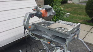 Ridgid 10in Wet Tile Saw - FOR RENT - tile cutter