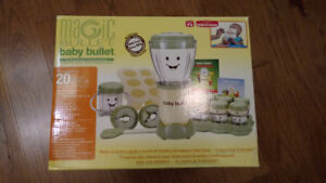 *NEW* Magic Bullet Baby Bullet 20 piece food making system