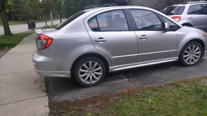 Suzuki sx4 Sedan -certified (CVT transmission) sporty