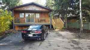 Sylvan Lake Furnished 3bdrm house steps from the beach