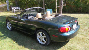 Baby Has to Go..Almost New, 1999 Mazda Miata MX-5