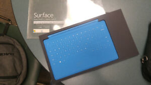 Surface Type cover 2 w/backlight Blue