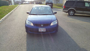 2005 Honda Civic LX Coupe (2 door) - 5 Speed