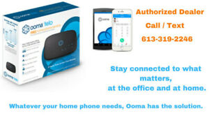 Ooma Telo Home Phone Service $14/mo & Best Internet promotions.