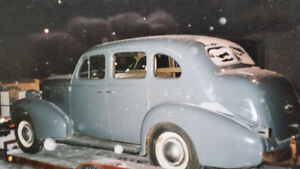 1937 Canadian Pontiac 224 Suicide Doors 4 Door Sedan