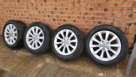 Audi a6 alloys 5x112 alloy wheels