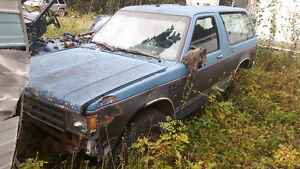 CHEVY S-10/GMC SANOMA PARTS