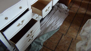 French Provincial Dresser with mirror-(Nine drawer) Kingston Kingston Area image 6