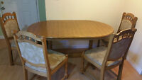 German Made Kitchen Table & Chairs