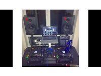 Pioneer CDJ 1000 mk3 & Pioneer DJM 400 Mixer