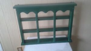 Small solid pine curio for sale