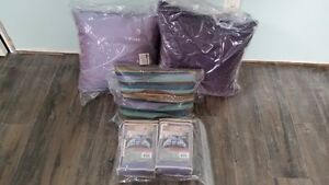 New (still in packaging) Tracy Porter Pillows & Shams Purple