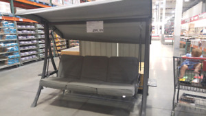 Patio Swing Daybed NEW IN BOX from Costco
