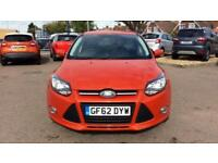 2012 Ford Focus 1.0 125 EcoBoost Zetec 5dr Manual Petrol Hatchback