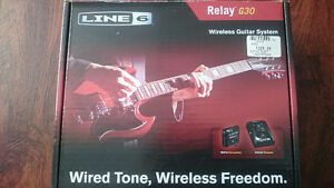 LINE 6 RELAY G30 WIRELESS GUITAR SYSTEM!!!!!!!!!!!
