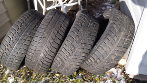 4 studded 16 inch tires