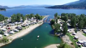 Cottonwood Cove RV Resort - Shuswap Lake