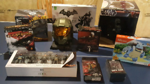 Video Game Collectibles + Toys