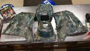2010 POLARIS SPORTSMAN 850 XP MOSSY OAK PLASTICS