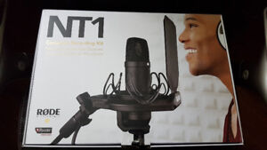 Rode NT1-Kit Complete Recording Kit Cardioid Condensor Mic