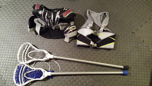 Lacrosse equipment used 1 season - great condition