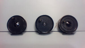 """'' J .W Young , English made fly reels """""""
