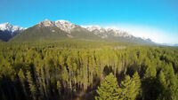2.49 acres with views of the Purcell Mountains in Golden, BC