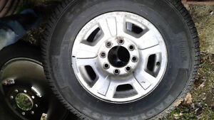 """3-17""""GM wheels and tires"""
