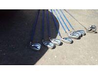 Golf clubs - set of irons