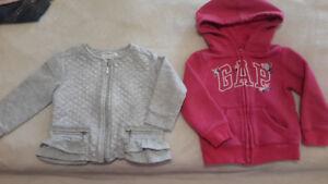Mayoral light jacket/ Gap hoody