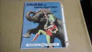 Ringling Bros and Barnum @ Bailey Circus Program 1964
