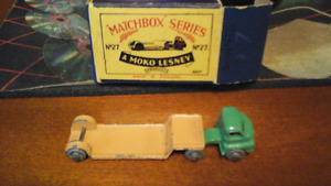 Matchbox Series # 27 cab @ trailer