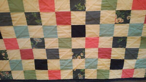 3 Hand sewn quilts - Excellent condition