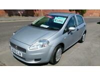 FIAT GRANDE PUNTO 1.4 ACTIVE 5 DOOR LOW MILES MET SILVER ECONOMICAL AND CLEAN 09