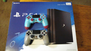 PS4 Pro 1TB & 2 Controllers