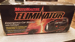 Motomaster Emergency Car Starter in box