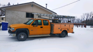 Service Body, Work Truck, Silverado 3500HD.