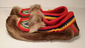FOURRURE CARIBOU - inuit - mukluks - homme taille 9