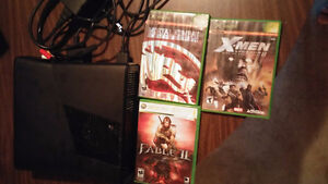 Xbox 360 and 3 Games
