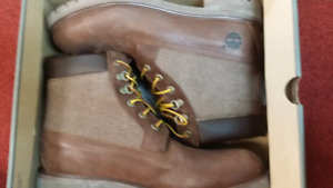 """6"""" New Brown Timberland Boots Size 12"""