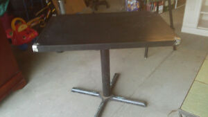 BAR  TABLE AND CHAIR FOR SALE $ 50