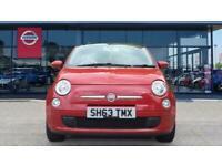 2013 Fiat 500 1.2 Lounge 3dr [Start Stop] Petrol Hatchback Hatchback Petrol Manu
