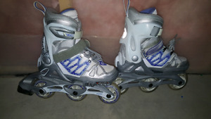 Kids Adjustable size Rollerblades