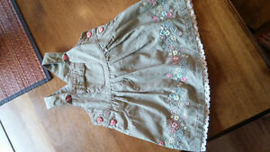 6-12 Month Coverall Style Dress