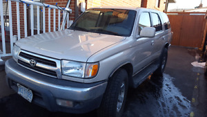 2000 Toyota Four runner for sale(reduced)