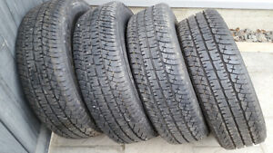 MICHELIN LTX/AT2 18INCH 10 PLY TIRES $700.00