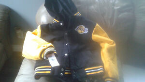 LAKERS REVERSIBLE COAT